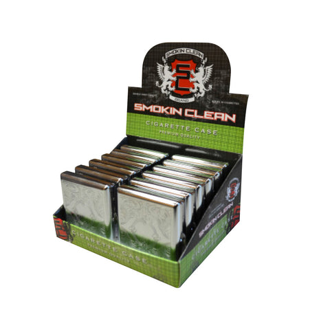 Smoking Clean Cigarette Case - King Size
