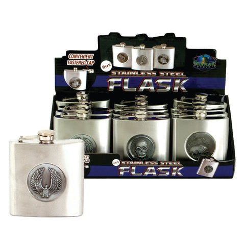 Stainless Steal 6 oz. Flask