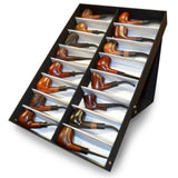 Wood Pipe Display Case