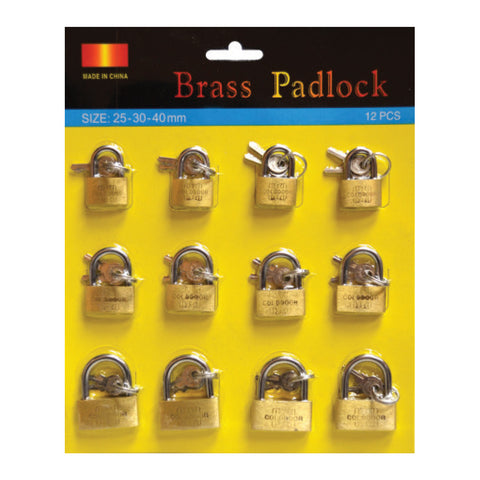 Utility-Brass Padlocks