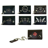 Wallets Key Chian Metal logos