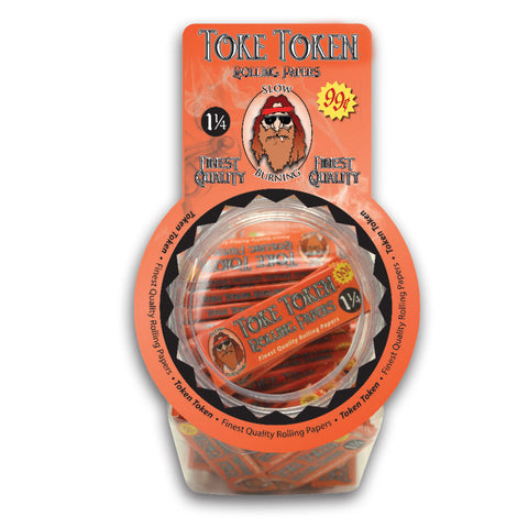 Toke Token Rolling Papers 1 1/4 inch