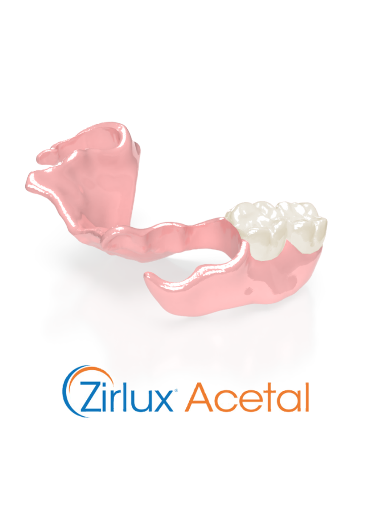 Zirlux Acetal Removable Partial Denture - Stayplate