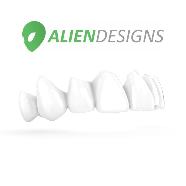 Full Contour Designs for Dental CAD CAM