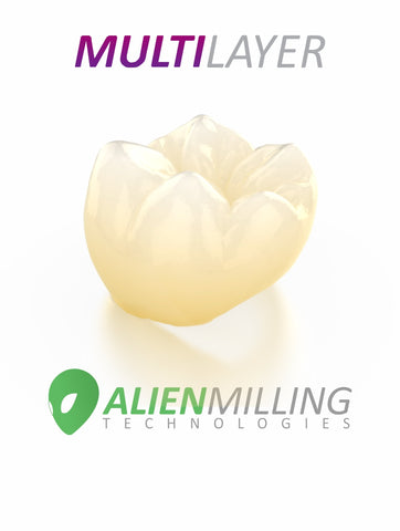 Alien™ Multi-Layer Zirconia