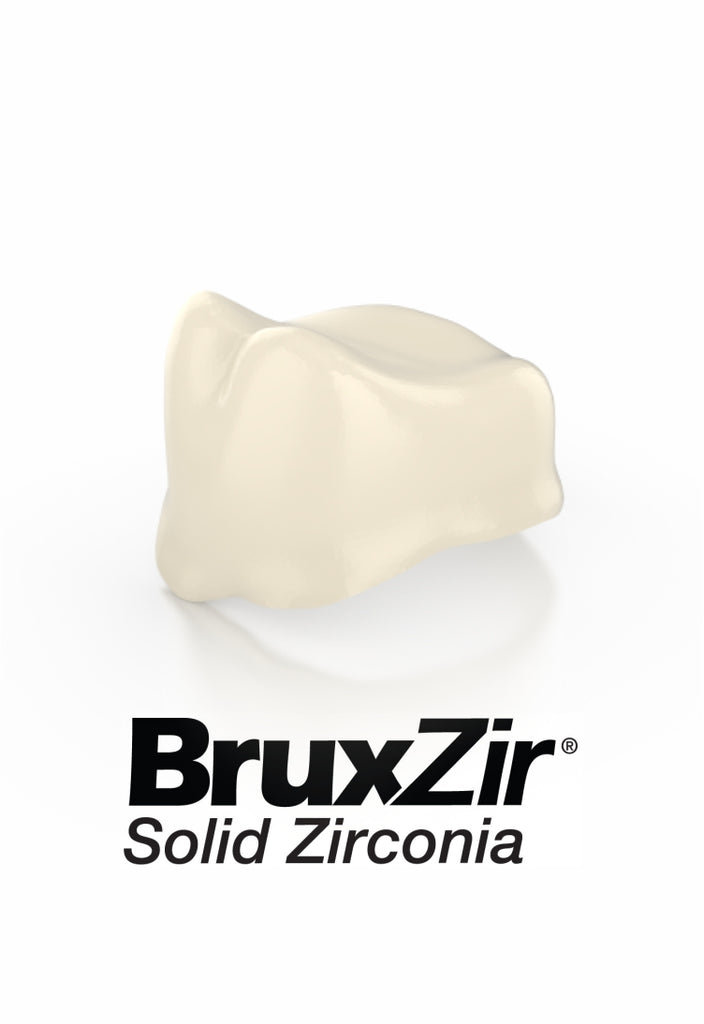 Bruxzir™ Anatomical Zirconia Coping
