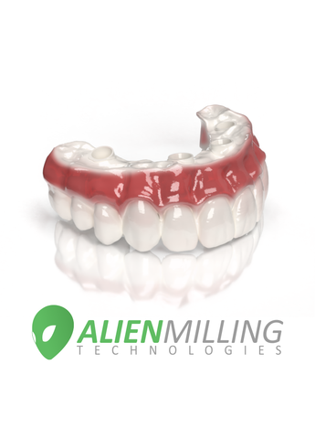 Alien HT Implant Full Arch Hybrid Zirconia