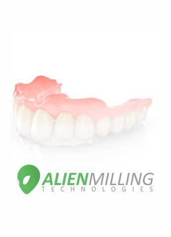 Alien Implant Full Arch Hybrid Zirconia