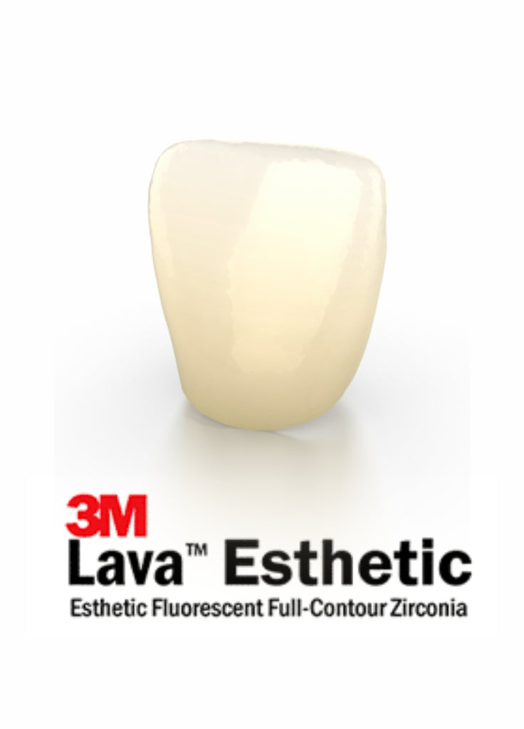 3M™ Lava™ Esthetic Full Solid Anterior Crown