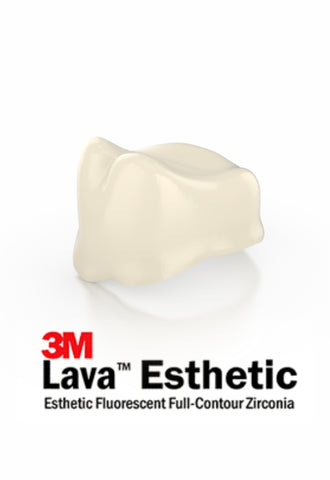 3M™ Lava™ Esthetic Anatomical Zirconia Coping