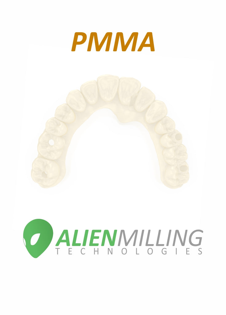 Alien Implant Full Arch Hybrid PMMA