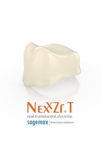 NexxZr Sagemax™ Anatomical Zirconia Coping