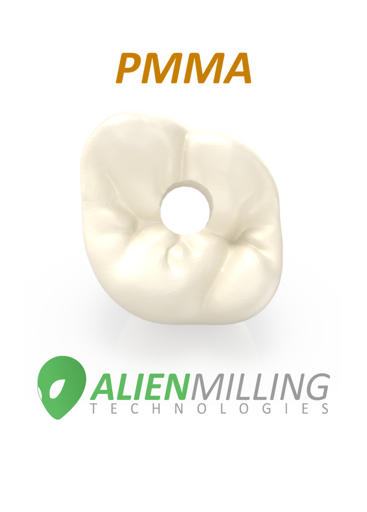 Alien PMMA Implant Crown