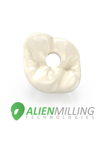 Alien HT Implant Zirconia Crown