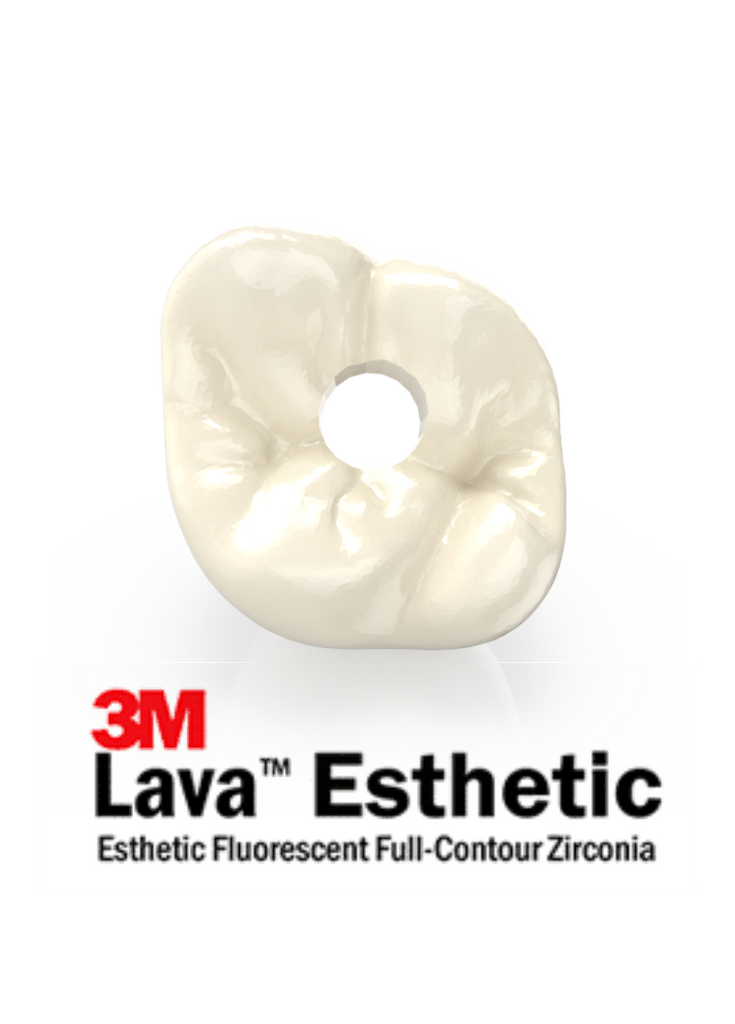 3M™ Lava™ Esthetic Implant Zirconia Crown