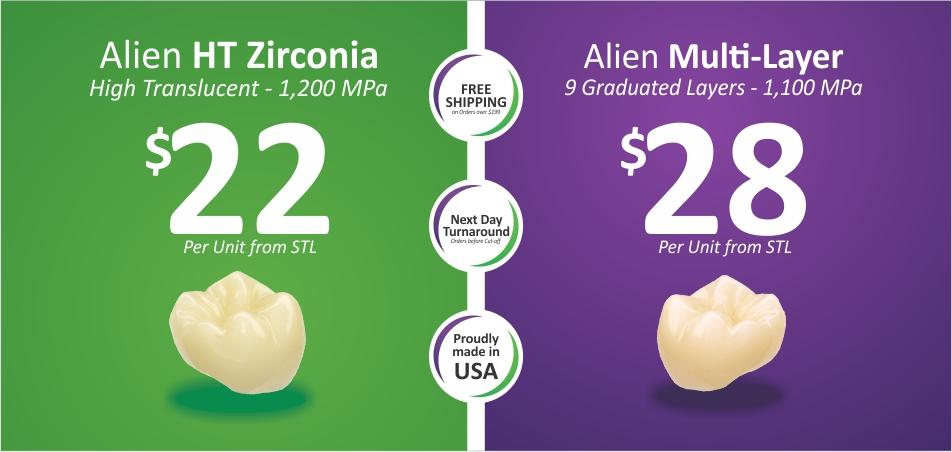 Full Solid Zirconia
