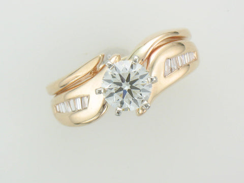 .81 ct ideal cut VS2 I diamond ring at Chimera Design