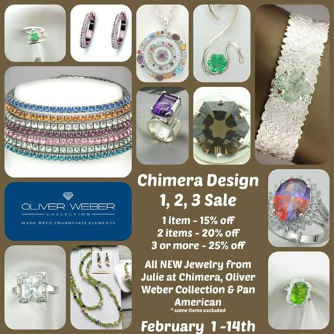 Jewelry Sale At Chimera Design in Lowell