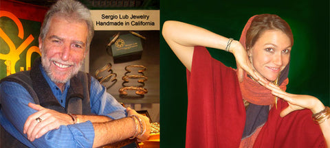 Sergio Lub & Sonia Lub design and make beautiful bracelets