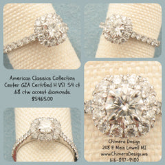 Hand made American Classics Engagement Rings