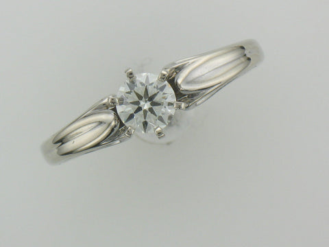 .50 ct ideal cut diamond engagement ring at Chimera Design