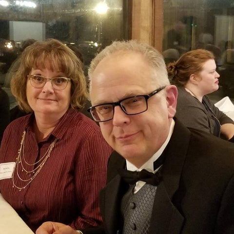 Julie and Cliff at the Lowell Area Chamber of Commerce Annual Dinner