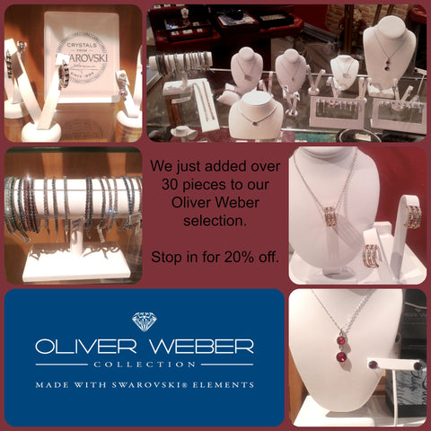 Oliver Weber Fashion Jewelry at Chimera Design in Lowell