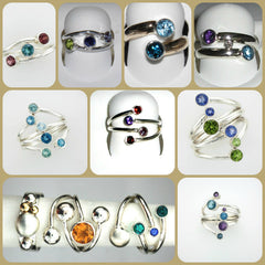 Custom Birthstone Rings at Chimera Design