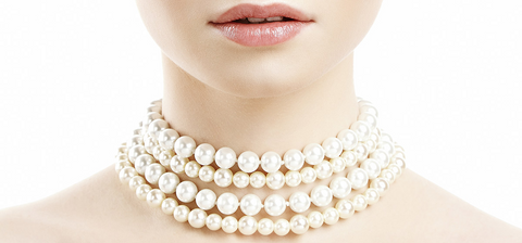 Put your pearls on last and take them off first.