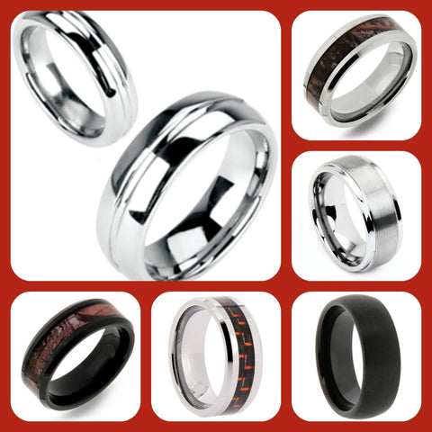 $69 Tungsten Bands at Chimera Design