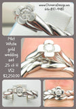 Never Worn 14kt Wedding Set