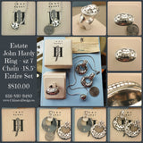 Pre-Owned John Hardy Ring, Pendant, and Earring Set