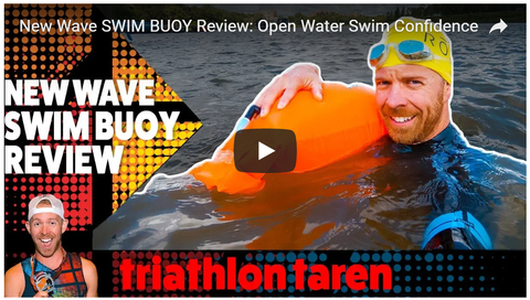 New Wave Swim Buoy Review by Triathlon Taren - Boost your Open Water Swim Confidence