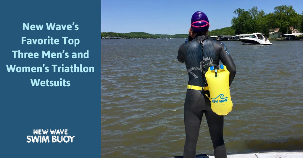 New Wave's Favorite Top Three Men's and Women's Triathlon Wetsuits