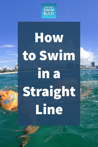How to Swim in a Straight Line