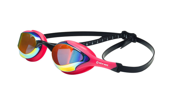 Goggles - Bubble Dreams - PINK New Wave Swim Goggles (Revo Lens In Pink Frames) NOW In STOCK!