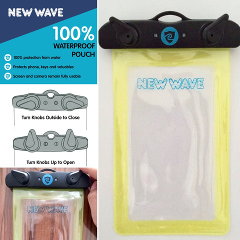 New Wave 100% Waterproof Phone Pouch