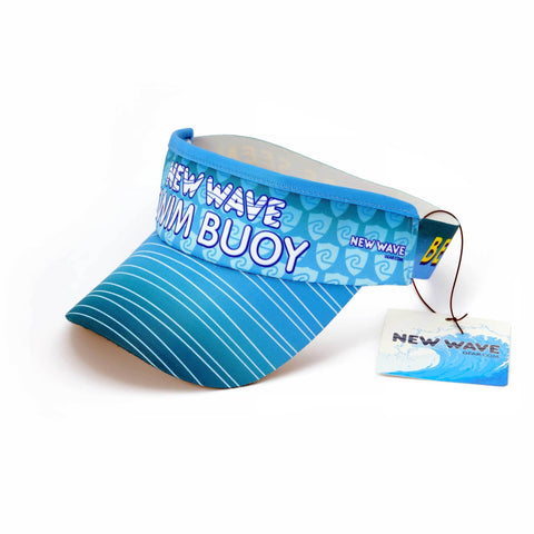New Wave Swim Buoy Visor - Designed By Ryan Catherall