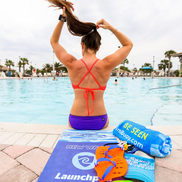 New Wave Launchpad Triathlon Transition Mat - The Fastest Way To Get Back To In Racing