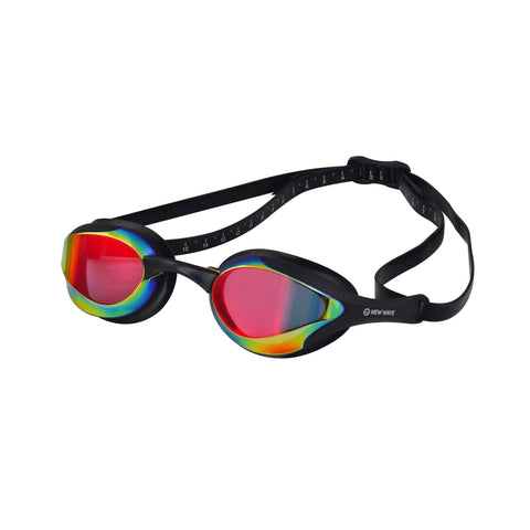 Swag - New Wave Swim Goggles - Fusion 2.0 (Bonfire = Revo Lens In Black Frames)