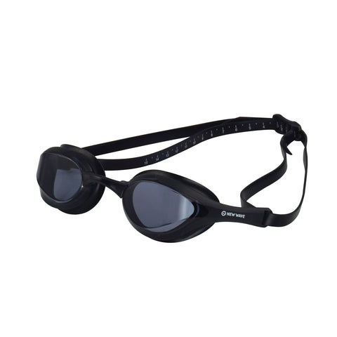 Swag - New Wave Swim Goggles - Fusion 2.0 (Nightfall = Smoke Lens In Black Frame)