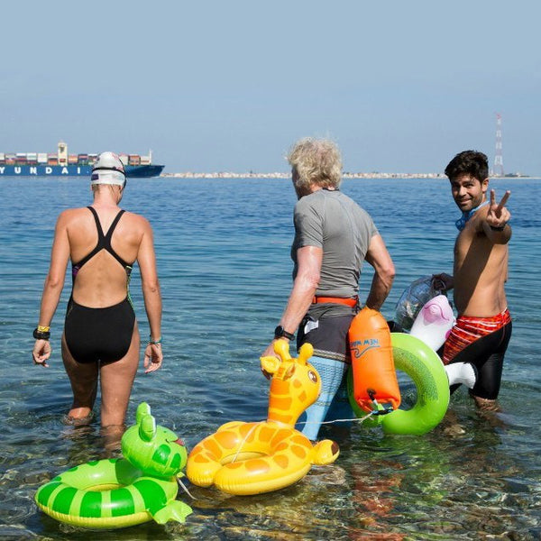 New Wave Swim Buoy with Richard Branson