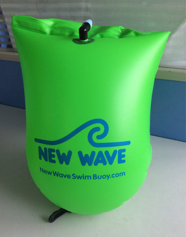 Swim Buoy - New Wave Open Water Swim Buoy - Two Sizes - PVC KELLY Green
