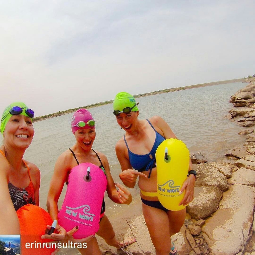 05326538f12 ... Swim Buoy - New Wave Swim Bubble For Open Water Swimmers And  Triathletes - Yellow