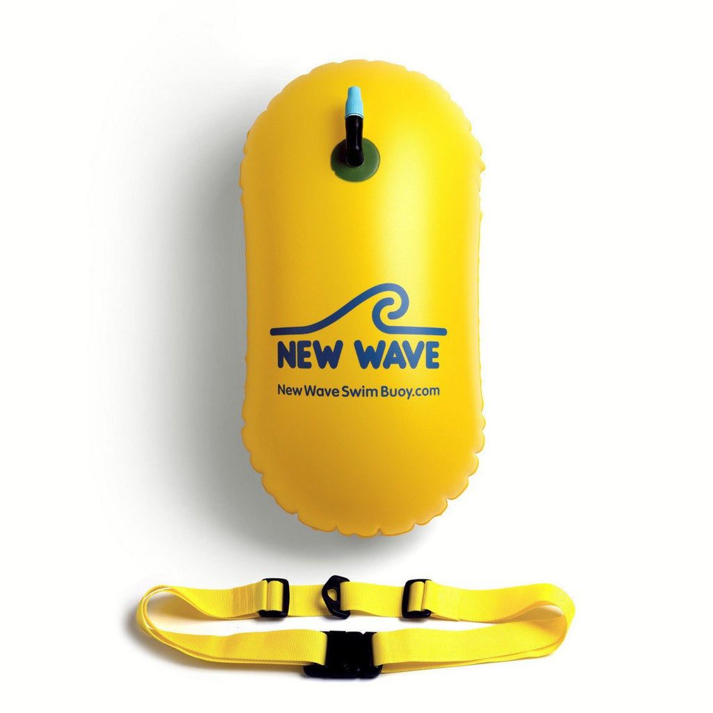 a26f9224d20f Swim Buoy - New Wave Swim Bubble For Open Water Swimmers And Triathletes -  Yellow