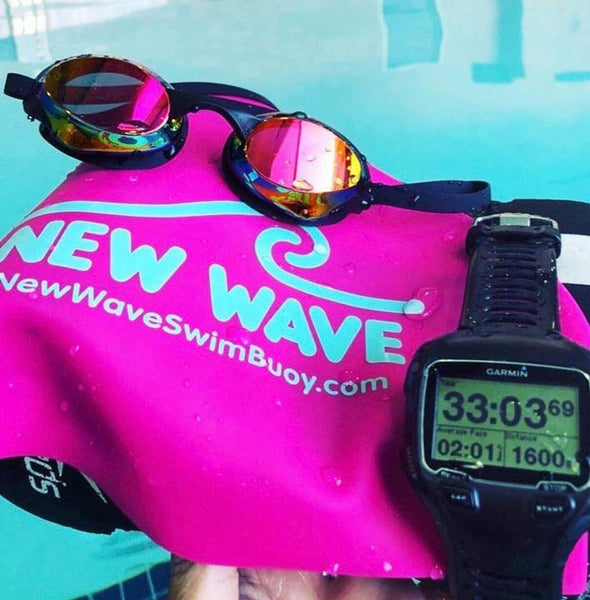 Swim Cap - Swim Cap Pink - New Wave Silicone Swim Cap
