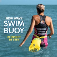 New Wave Swim Buoy for Open Water Swimmers & Triathletes