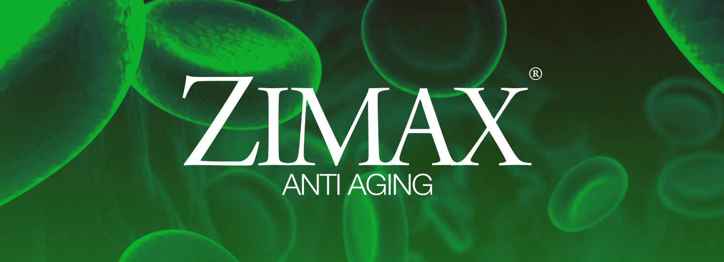 Zimax Anti Aging Banner