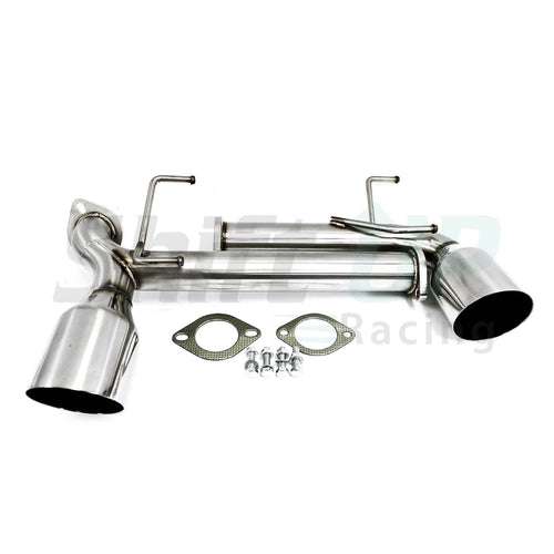PLM Power Driven FR-S BRZ TRACKPIPE Muffler Delete With Dual Tips 2013 - 2016 - Shift Up Racing