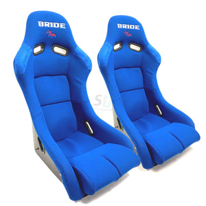 Bride Vios III Low Max - Blue / FRP - Shift Up Racing